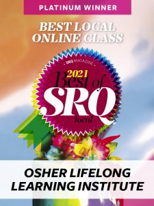 BEST LOCAL ONLINE CLASS Osher Lifelong Learning Institute at Ringling College